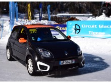 10 tours pilotage sur glace Twingo RS 133cv