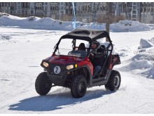 10 tours pilotage sur glace Polaris RZR 570 cc