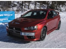 10 tours pilotage sur glace Mitsubishi EVO 10 300cv